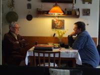 Mikuláš Kroupa interviewing Pavel Macháček