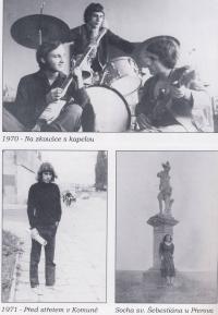 A photo from a book about Vladimír Hučín I
