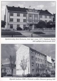 Photos from a book about Vladimír Hučín II