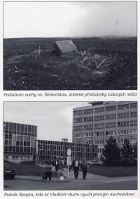 Photos from a book about Vladimír Hučín III