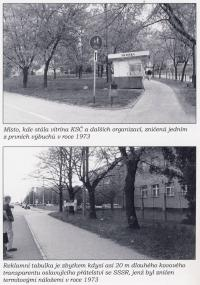 Photos from a book about Vladimír Hučín V