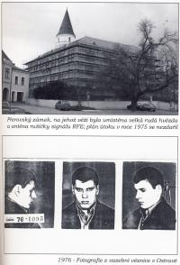 Photos from a book about Vladimír Hučín VI