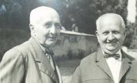 Bratři Josef a Antonín Hnátkové