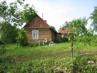 Her house in Podlísky in 2010