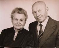 Her parents, Věra and Alexandr Lucuk