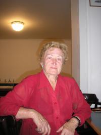 Crimean Czech Ludmila Kubik during her visit to Prague in August 2011