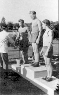 Jan Haluza, champion