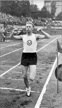 The beginning of Haluza´s athletic success