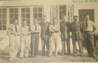 In RAF, Ivan Schwarz is the fourth from right side