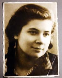 Maja Fundová shortly after the war