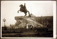 The Bronze Horseman in Leningrad - 1959