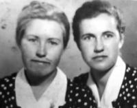 Nadia Ratuszna i Olga Krywenka