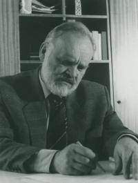 Rektorem VŠE v roce 1990