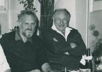 S MUDr. Františkem Krieglem – rok 1968 (?)