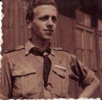 Miroslav Dostál na táboře