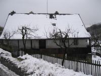 Cottage in Mladoňov, where Elsa Gabrielová lives today