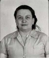 Růžena Vacková - photo from the materials of State security