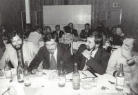 Conference of marriage counselors (from left Petr Šmolka, Andrej Gjurić, Karel Kopřiva)