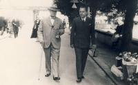 Father with the prime minister Antonín Švehla