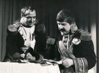 "Marshal Berthier in drama ""Box of Austerlitz"""