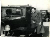 "Ihor Popovych, driving the ""Polutorka"" on the Far East"