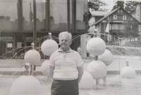 František Bocek in Dresden