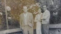 Rudolf with his friend and wife, circa 1962 - 1964