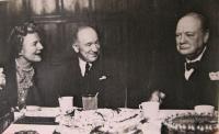 Edvard Beneš, Winston Churchill