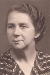 Josefa Dostálová, mother of Libuše Hiemerová, was interned in Svatobořice
