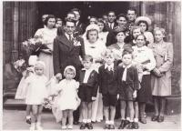 Wedding of Libuše and Josef Hiemer