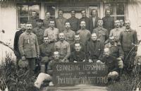 Otec po návratu z první světové války