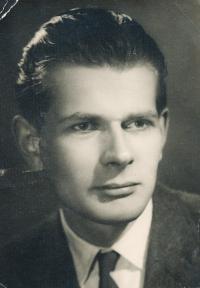Jan Skopeček - asi 17 let