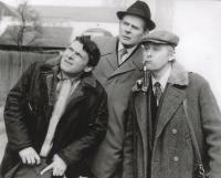 Hlavní protagonisté seriálu Tři chlapi v chalupě