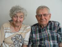 Věra Tichánková a Jan Skopeček