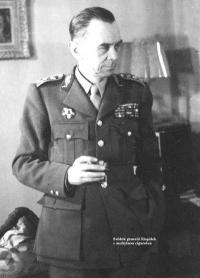 General Klapálek on Selners' wedding