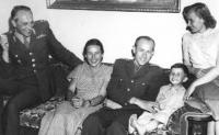 Selner and Zátopek families