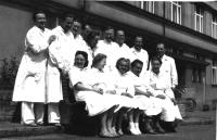 X-ray personnel in Bulovka hospital II.