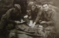 Cholmondeley Park, Alexander Burger vpravo, 1940