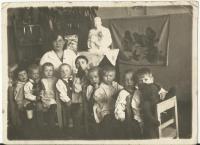 In a Stalingrad kindergarten