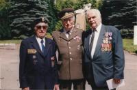 Josef Andres na setkání veteránů