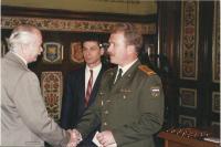Josef Andres na ruském velvyslanectví