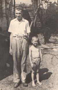 Vladimír Vrbenský - son of Dr. Vrbenský and little Kazimir Biněvský