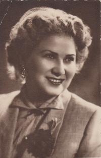 Věra Biněvská 1954