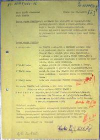 Protokol ze sledování Stb, 1976