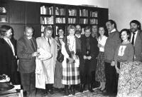 Vojtěch Sedláček s přáteli, 1991