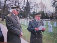 Vasil Coka with Josef Křístek