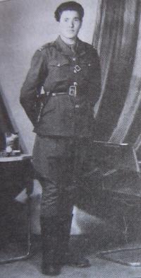Vasil Coka in the Czechoslovak army