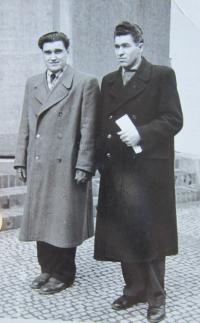 Vasil Hafinec and Vasil Coka - both experienced the gulags and combat with the Czechoslovak forces on the East Front
