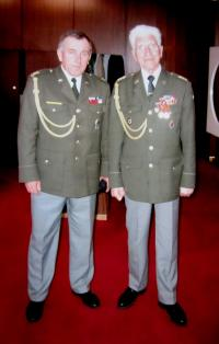 Vasil Coka on the right