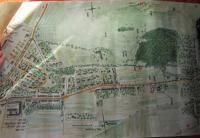 Mapa místa v Bystřici pod Hostýnem, kde byl Vasil Coka raněn při osvobozování 6. května 1945